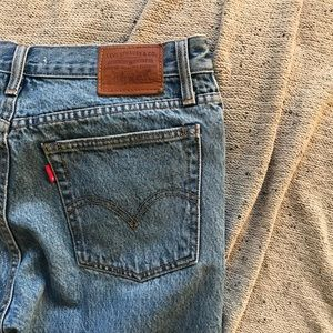 Never Worn - Levi Wedge Straight Leg Jeans